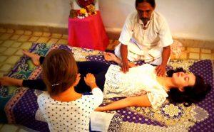 Reiki at Aranya yoga India