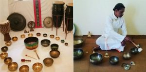 singing bowls therapy in goa, dharamsala