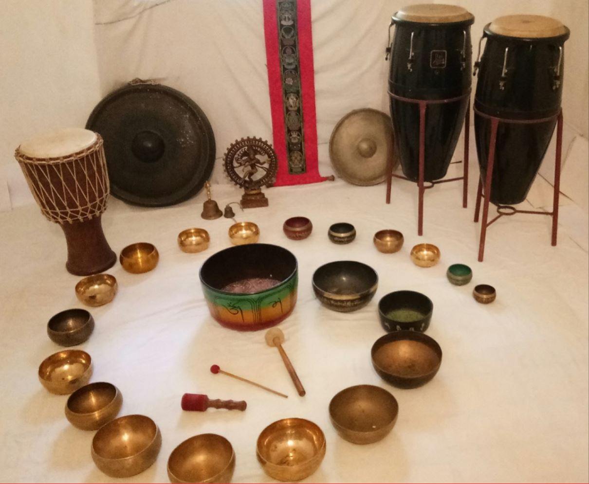 sound bath healing in goa