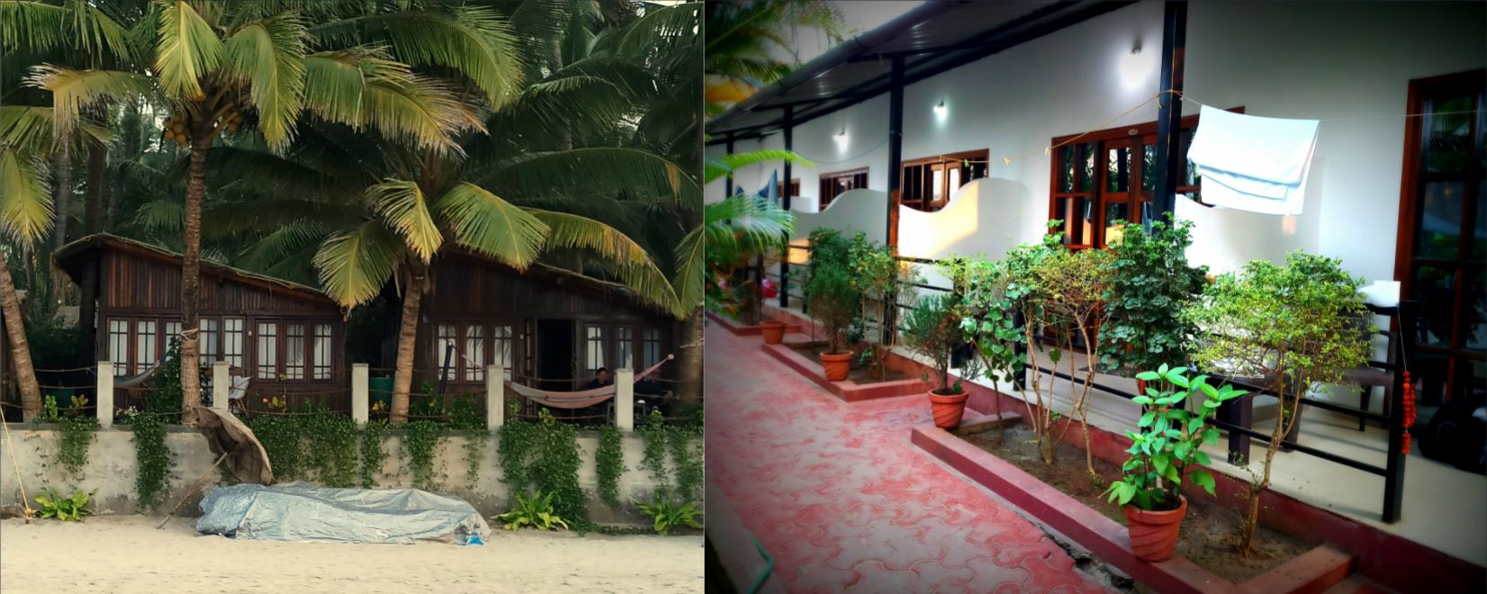 Accommodation in Palolem, Goa