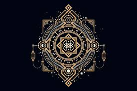 Sacred Geometry study at Aranya Yoga in India